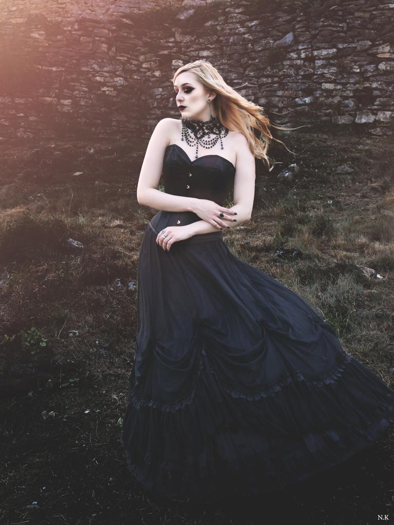 Shooting Gothique romantique, modele alternative No Eelys