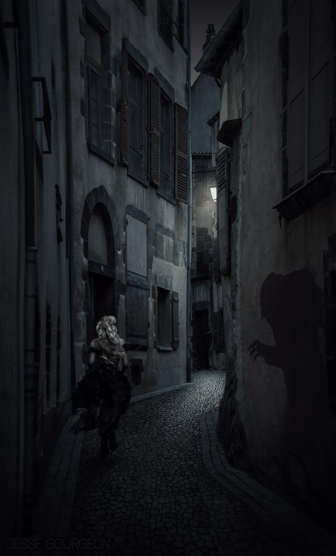 Nö Eelys par Jesse Gourgeon, modèle alternative gothique romantique