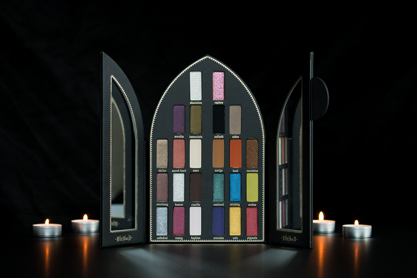 Packshot Palette Saint Sinner Kat Von D beauty