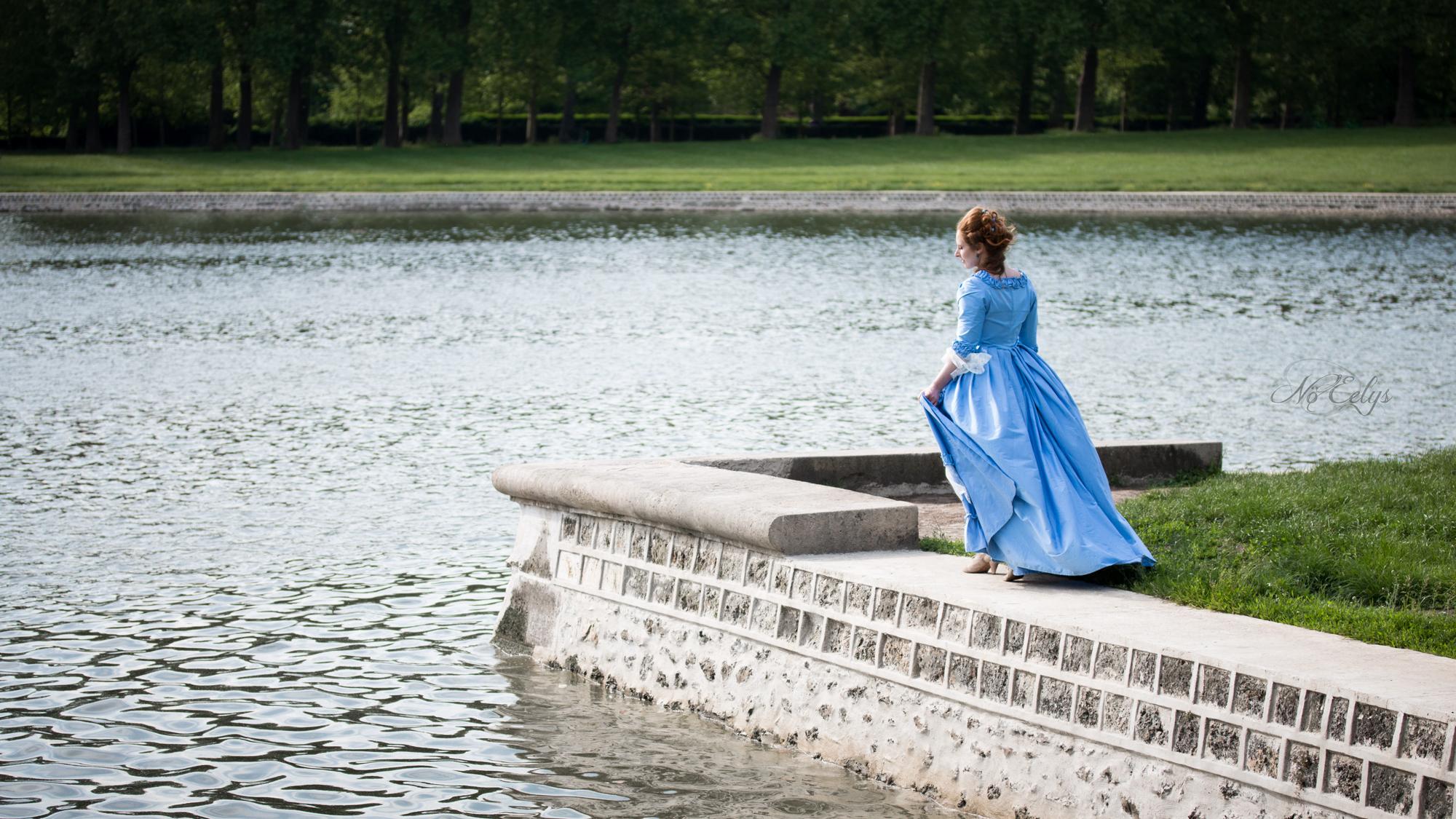 Modèle alternative Ylena Hel par Nö Eelys photo, coiffée par Findele's Secrets, photo d'inspiration romantique Renaissance Versailles, Les Corsets de Lola